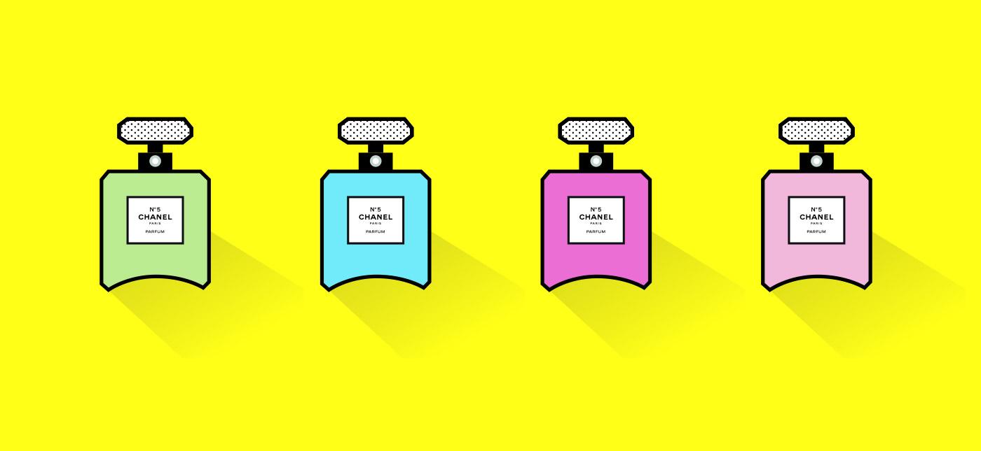 icon illustration of perfume
