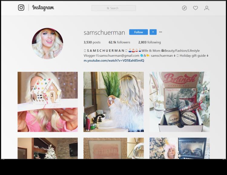 Sam Schuerman's Instagram feed