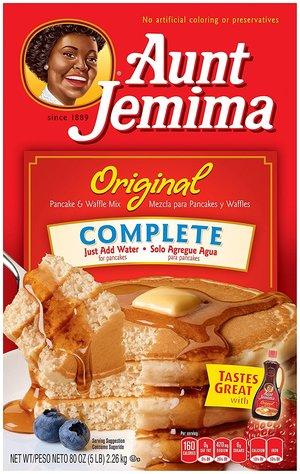 Red Aunt Jemima pancake box - Jemima (Ms. Nancy Green) was old school influencer.jpg
