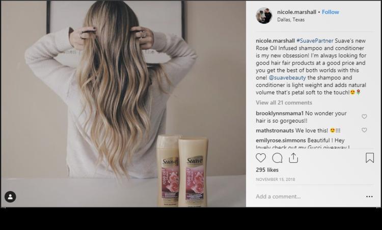 Screenshot of post from @nicole.marshall on Instagram.