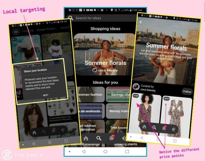 Shop Spotlight for Pinterest