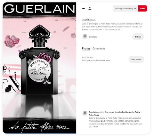 Pinterest pin from Guerlain