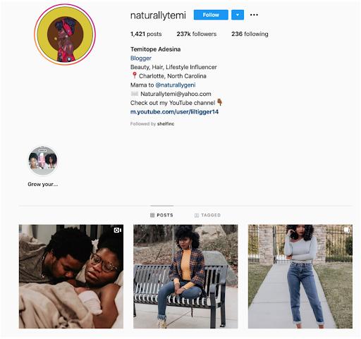 mommy beauty blogger - Temitope Adesina @naturallytemi