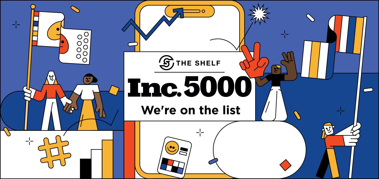 The Shelf on the Inc 5000 list